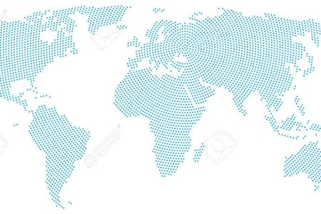 Map dots map of the world free wallpaper for maps full maps world globe map dotted puzzle stock illustration illustration download comp world map wall psdgraphics world map pinterest graphics world map wall gumiabroncs Images