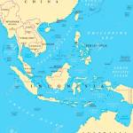 Southeast Asia Political Map With Capitals And Borders Subregion Royalty Free Cliparts Vectors And Stock Illustration Image 103518943