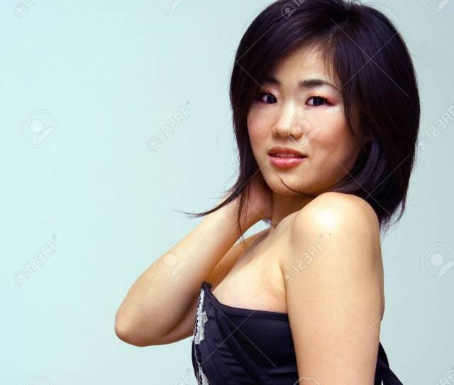 Beautiful Sexy Oriental Woman With An Attitude Stock Photo 3131033