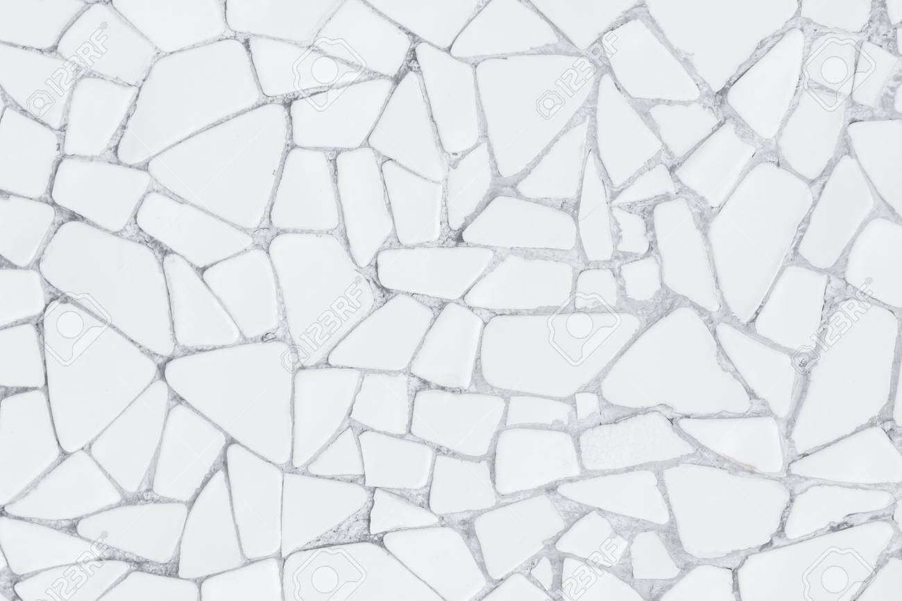 broken tiles mosaic seamless pattern white and grey the tile