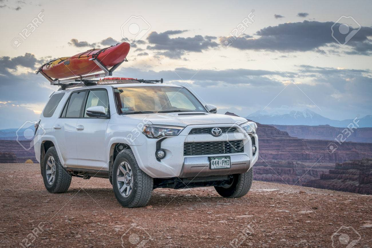 potash ut usa may 7 2017 toyota 4runner suv 2016 trail stock photo picture and royalty free image image 80068689