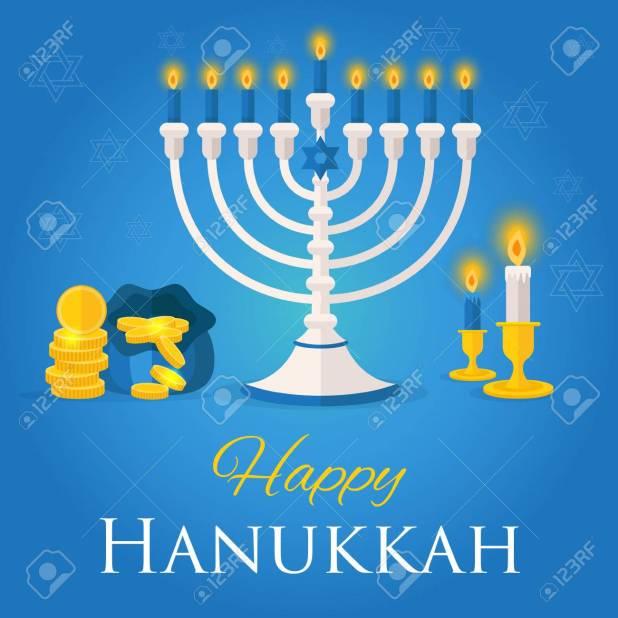 Hanukkah Or Chanukah Is The Jewish Festival Of Lights