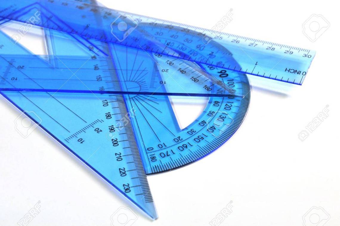 Architecture Tools Ruler Triangle And Protractor Stock Photo Picture And Royalty Free Image Image 10390312