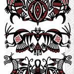 Tattoo Flash Stock Photo Picture And Royalty Free Image Image 5018484