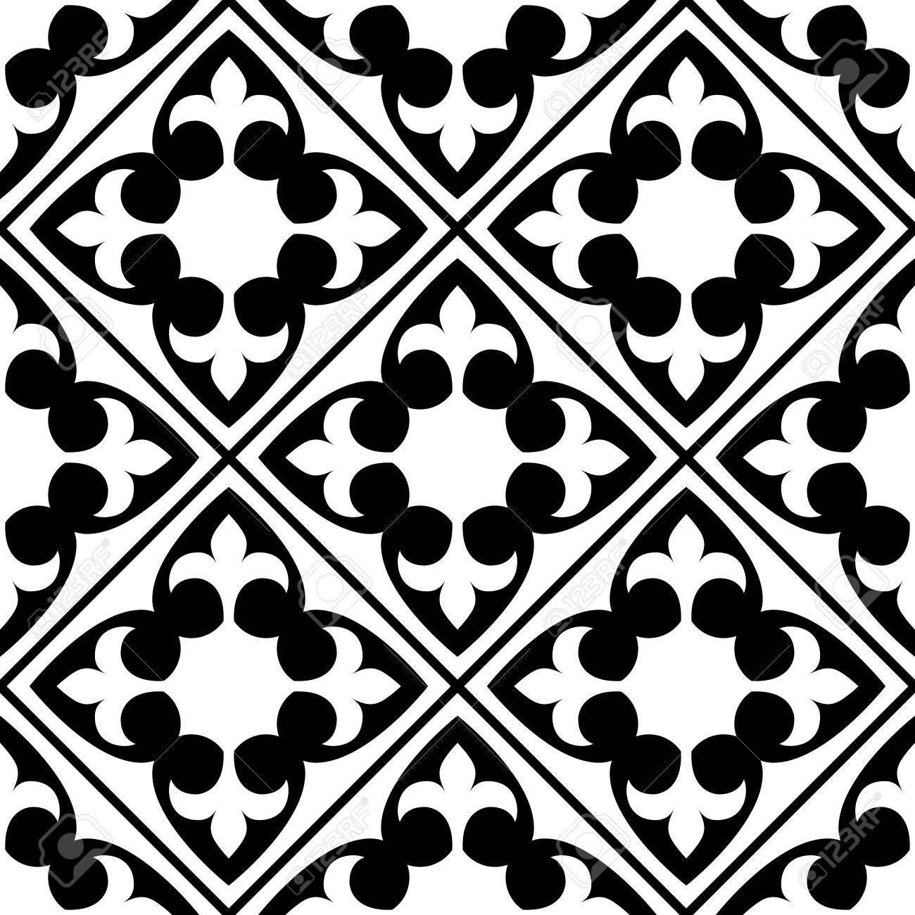 spanish and portuguese tile pattern moroccan tiles design seamless