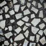 Textured Floor Decor Terrazzo Made By Combining Chips Of Marble Stock Photo Picture And Royalty Free Image Image 138189666