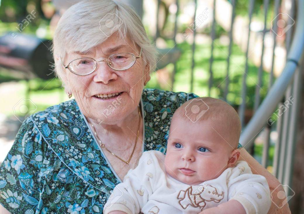 Image result for grandmother with baby