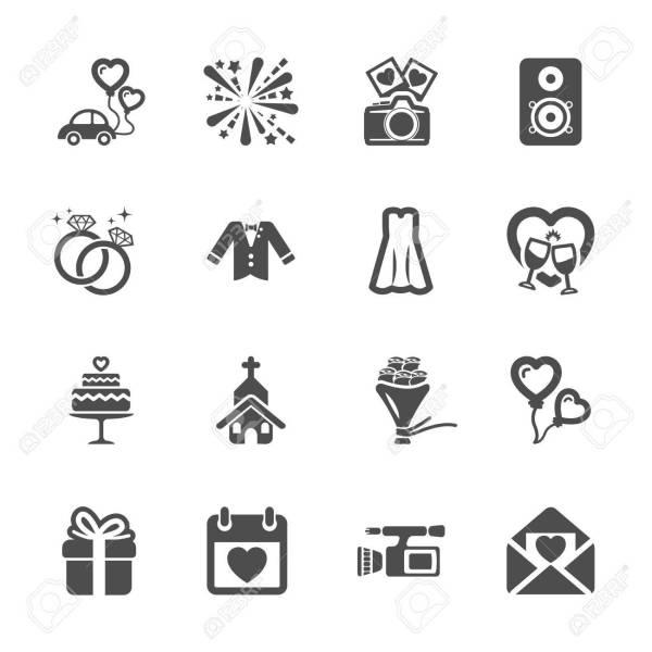 free wedding icons # 7