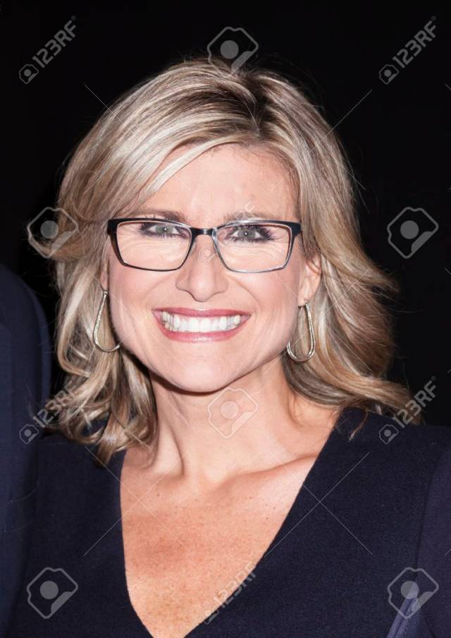 new york, ny, usa - april 20, 2016: journalist ashleigh banfield..