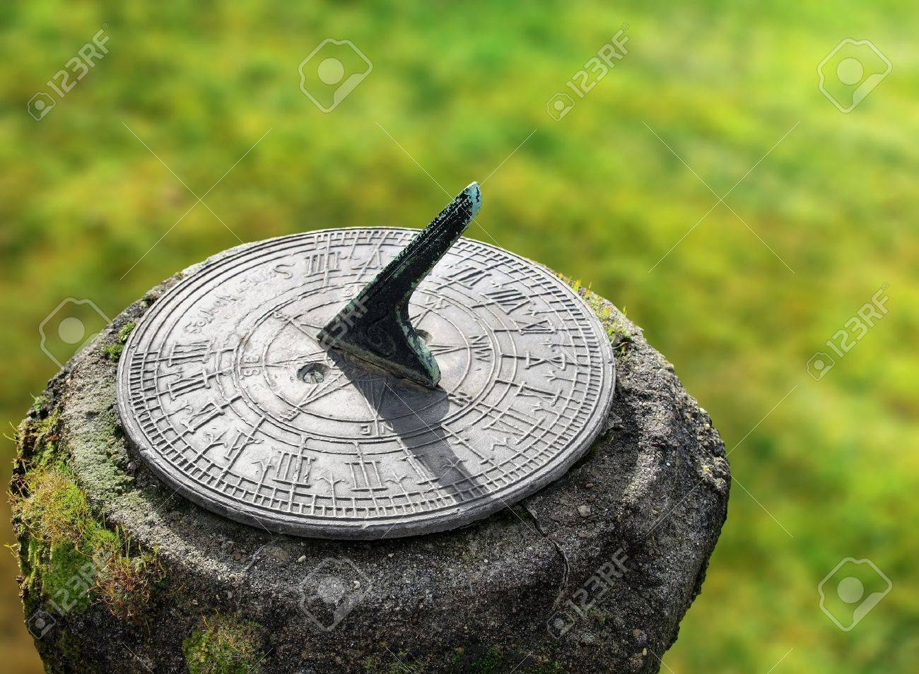 Old Sun Dial Clock Stock Photo Picture And Royalty Free Image Image 8794275
