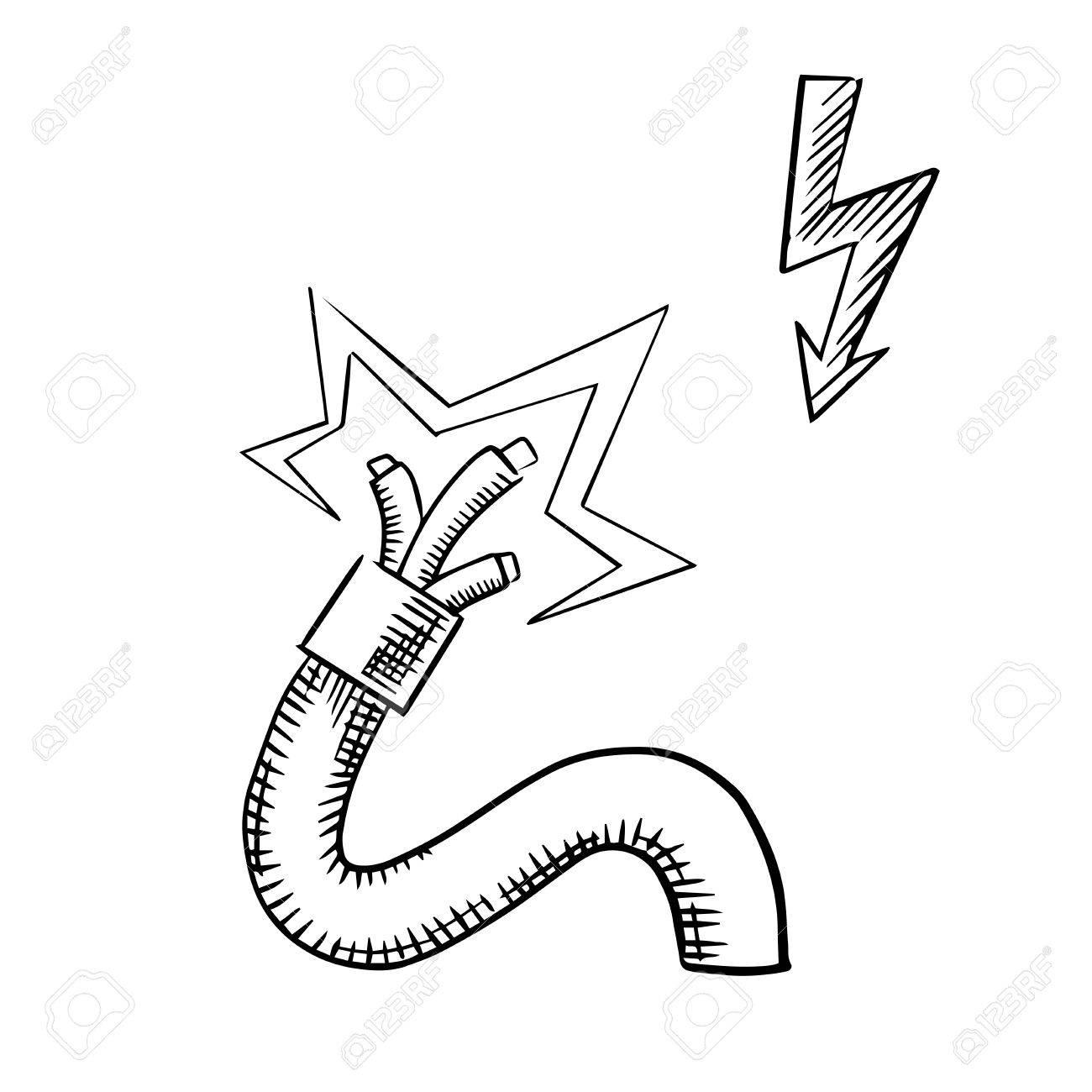 Fantastic cartoon man in wires mold electrical diagram ideas