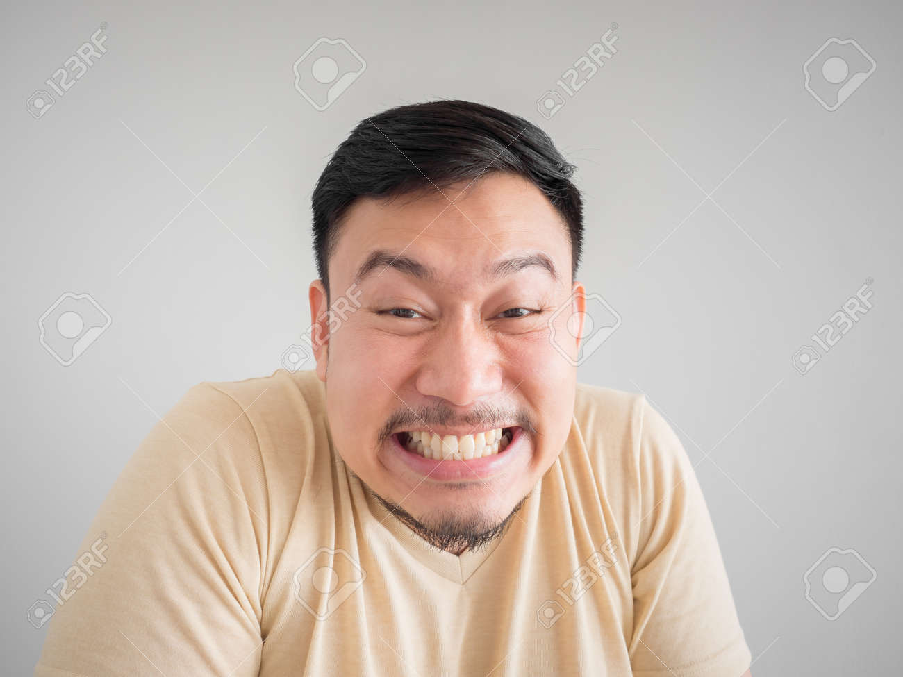 Man old clipart asian funny of