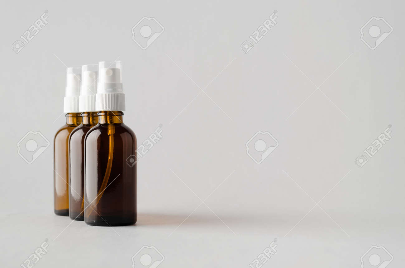 Ranging from print photoshop mockups, apparel, packaging, screen, logo, and more. Amber Spray Bottle Mock Up Three Bottles Stock Photo Picture And Royalty Free Image Image 80384585