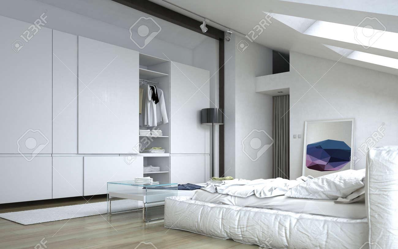 close up entierement meuble chambre blanc architectural avec white meubles et armoires murales
