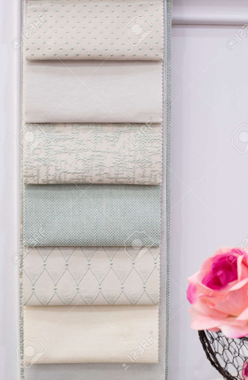 mint green curtains fabric pattern palette texture samples as