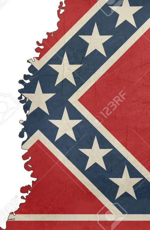 HD Decor Images » Grunge Mississippi Flag Map Isolated On A White Background  U S A      Grunge Mississippi flag map isolated on a white background  U S A  Stock  Photo   26011490
