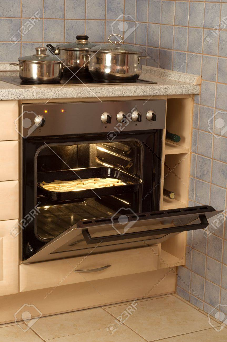 Open Built In Electric Oven Stock Photo Picture And Royalty Free Image Image 2515535