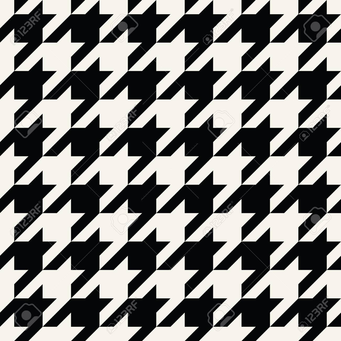 pied a carreaux pied a carreaux tissu a la mode motif geometrique noir et blanc