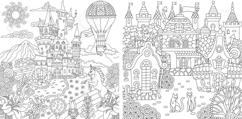 coloring pages. coloring book for adults. colouring pictures..