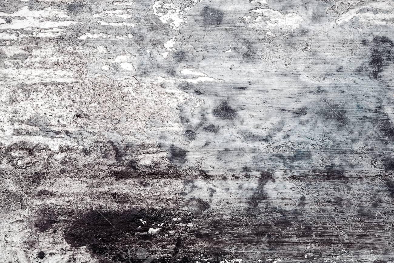 fond de texture de stuc mur gris noir et blanc malpropre peinture murale decorative