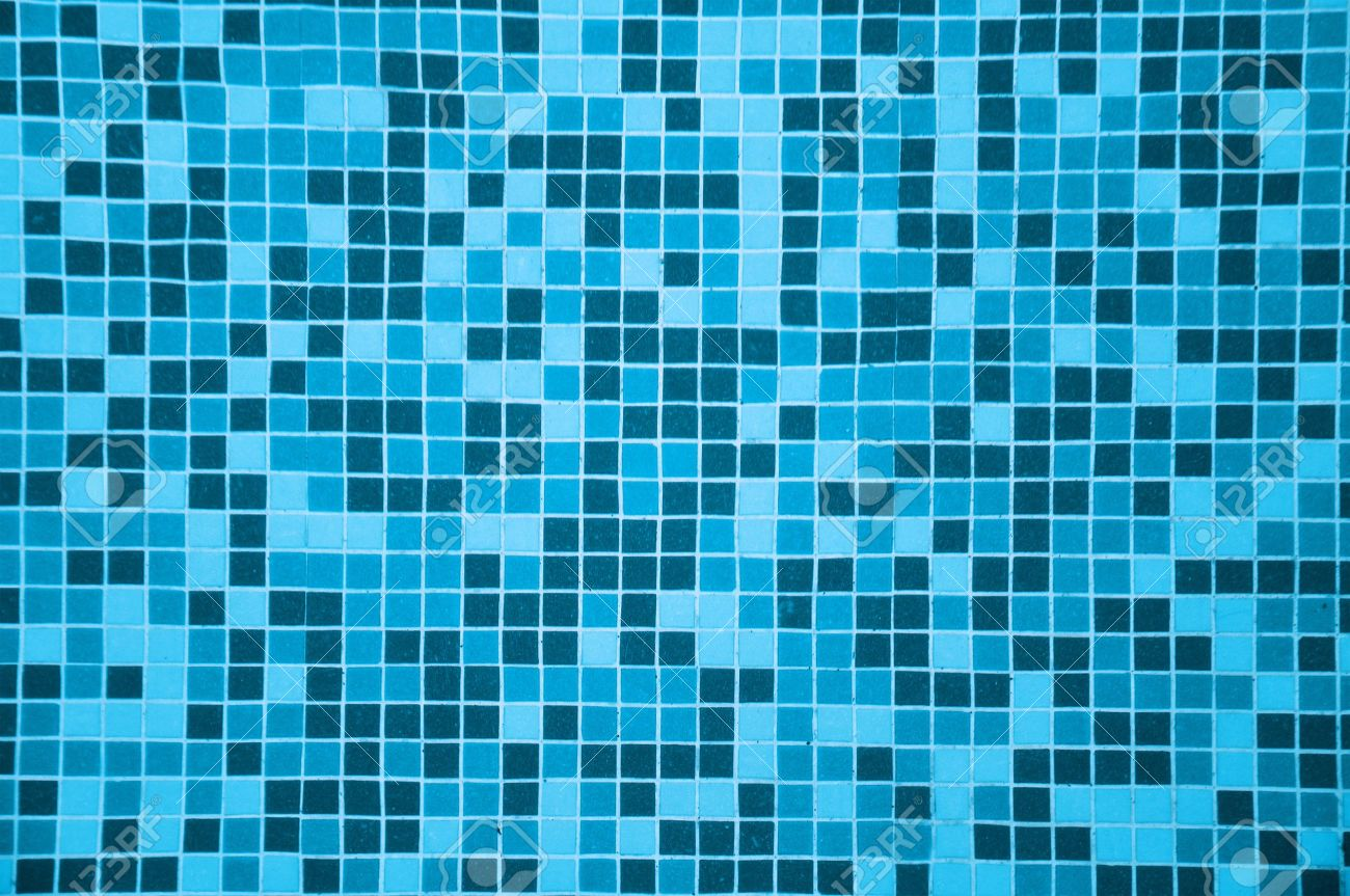 tile texture background of swimming pool tiles