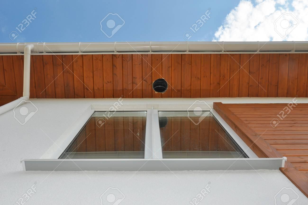 close up on outdoor lighting exterior light fixtures rain