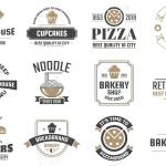 Restaurant Retro Vintage Signage Design Royalty Free Cliparts Vectors And Stock Illustration Image 89475144