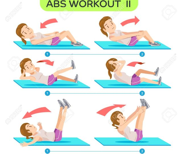 Abs Workout No  Six Pack Workout At Home Easy Exercise Program