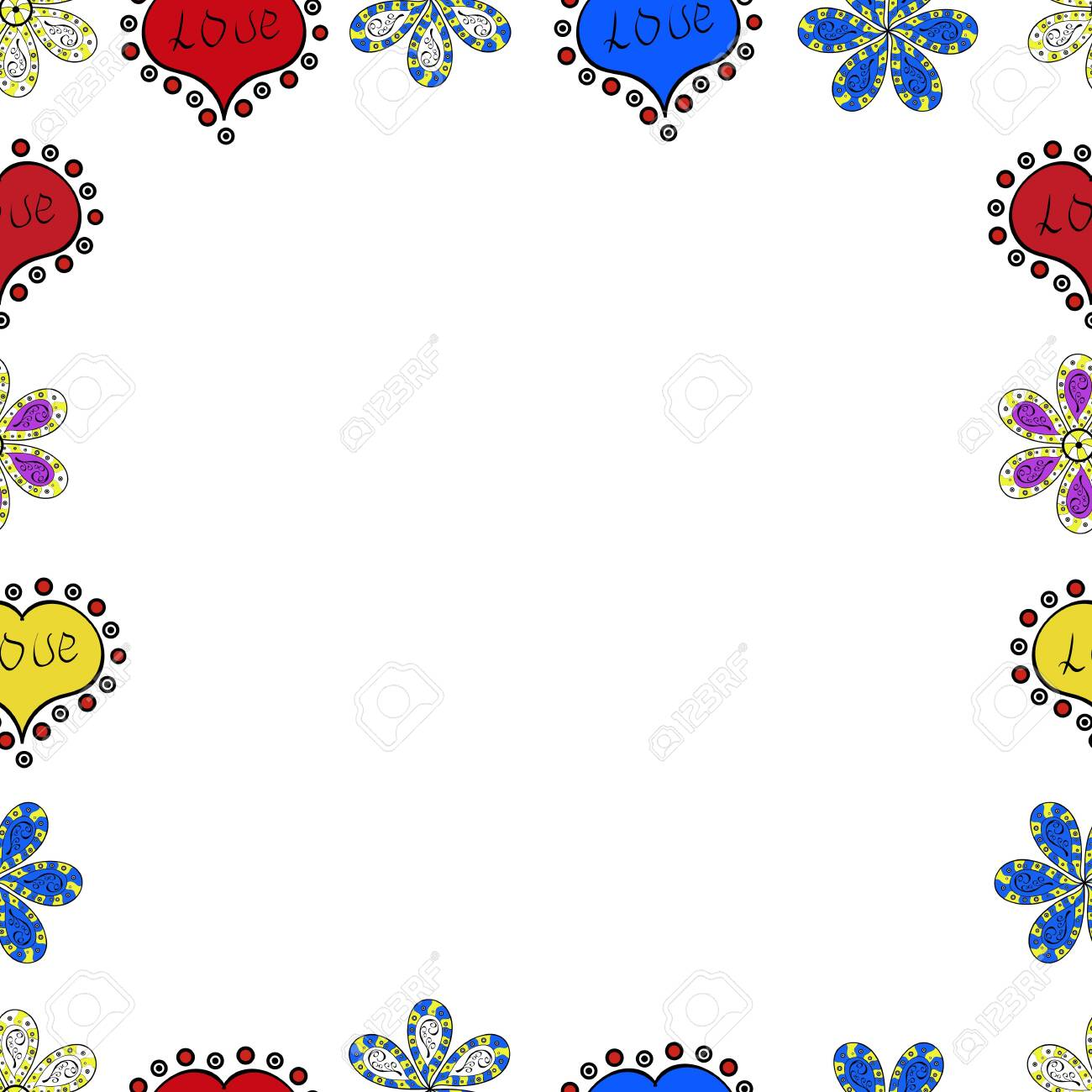 Decorative Vintage Frames And Borders Vector Border Design Royalty Free Cliparts Vectors And Stock Illustration Image 124420457