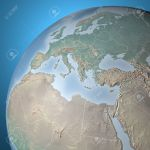 World Map Physical Map Middle East North Africa Europe Stock Photo Picture And Royalty Free Image Image 27294080