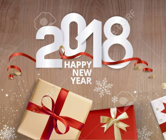 Elegant New Years Greeting Card Vector Illustration Concept For Greeting Cards Web Banner