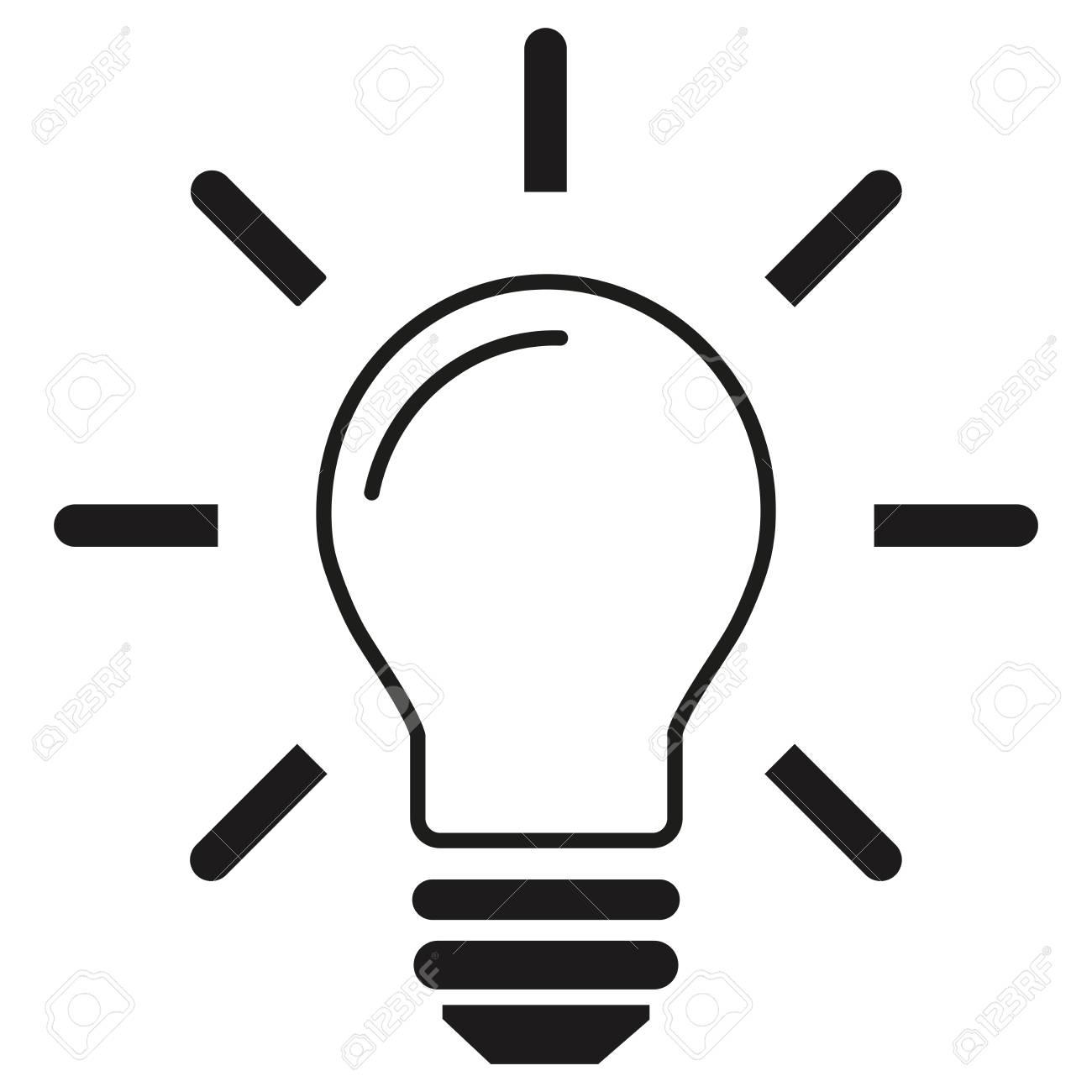 pictogramme ampoule idee ampoule electrique lampe ampoule electrique objet icone symbole