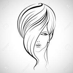 Image result for hairstyle illustration