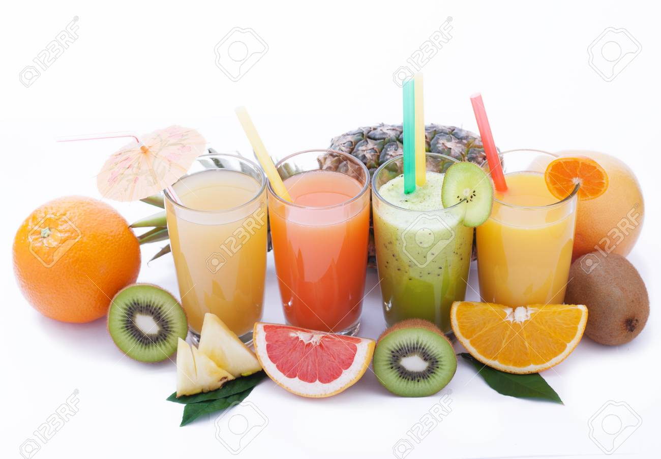 Fruits Smoothies Summer Cool Drinks Top View Macro Selective Stock Photo Picture And Royalty Free Image Image 59326669