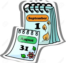 Resultado de imagen de calendario dibujo