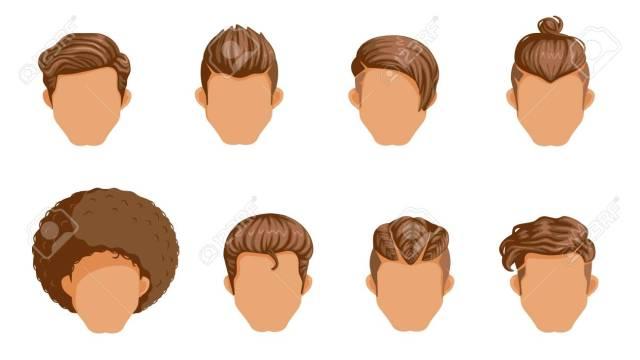 retro hairstyle men. male retro hair. mohawk hair, the classic..