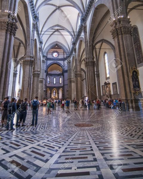 Interior Of Duomo In Florence Italy Stock Photo  Picture And Royalty     Interior of Duomo in Florence Italy Stock Photo   15371277