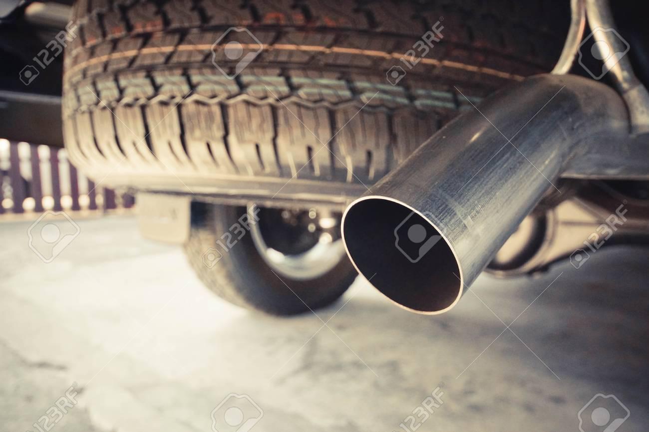 truck exhaust pipe