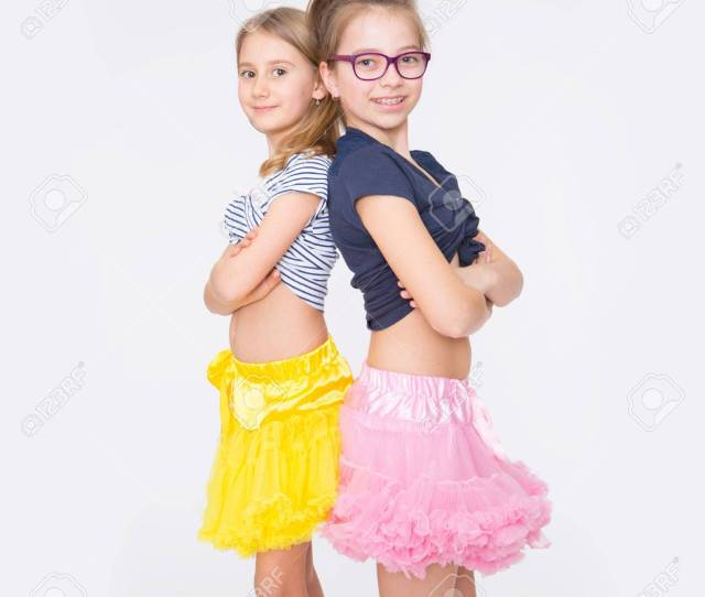 Playful Young Naughty Sisters Having Fun Stock Photo 75997914
