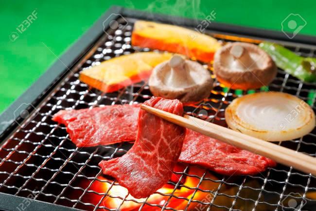 焼肉日本バーベキュー の写真素材・画像素材 Image 74895832.