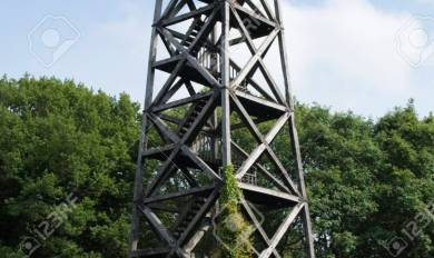 Wooden Antenna Tower | Wooden Thing