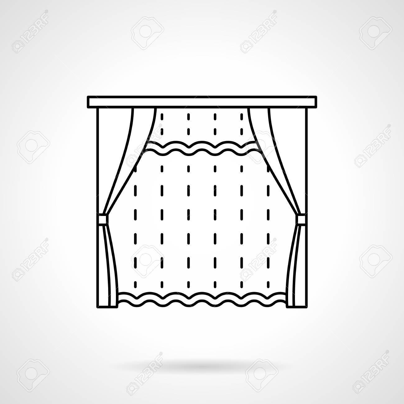 fenetre de chambre avec des stores et tulle rideau decoration textile pour chambre salon interieur de l hotel stores rideaux et le theme de la