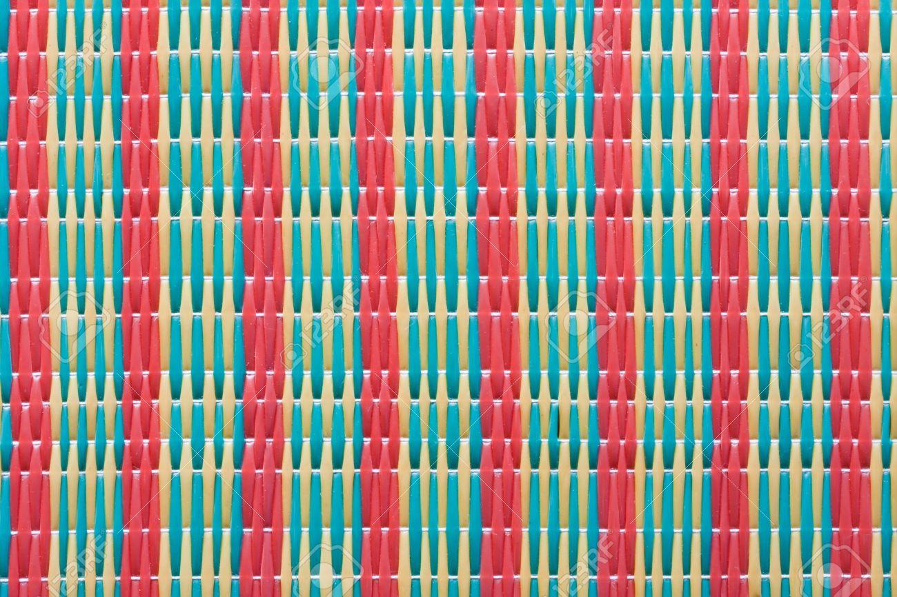 charmant tapis tresse plastique 4 tapis plastique africain
