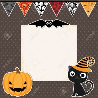halloween party invitation backgrounds