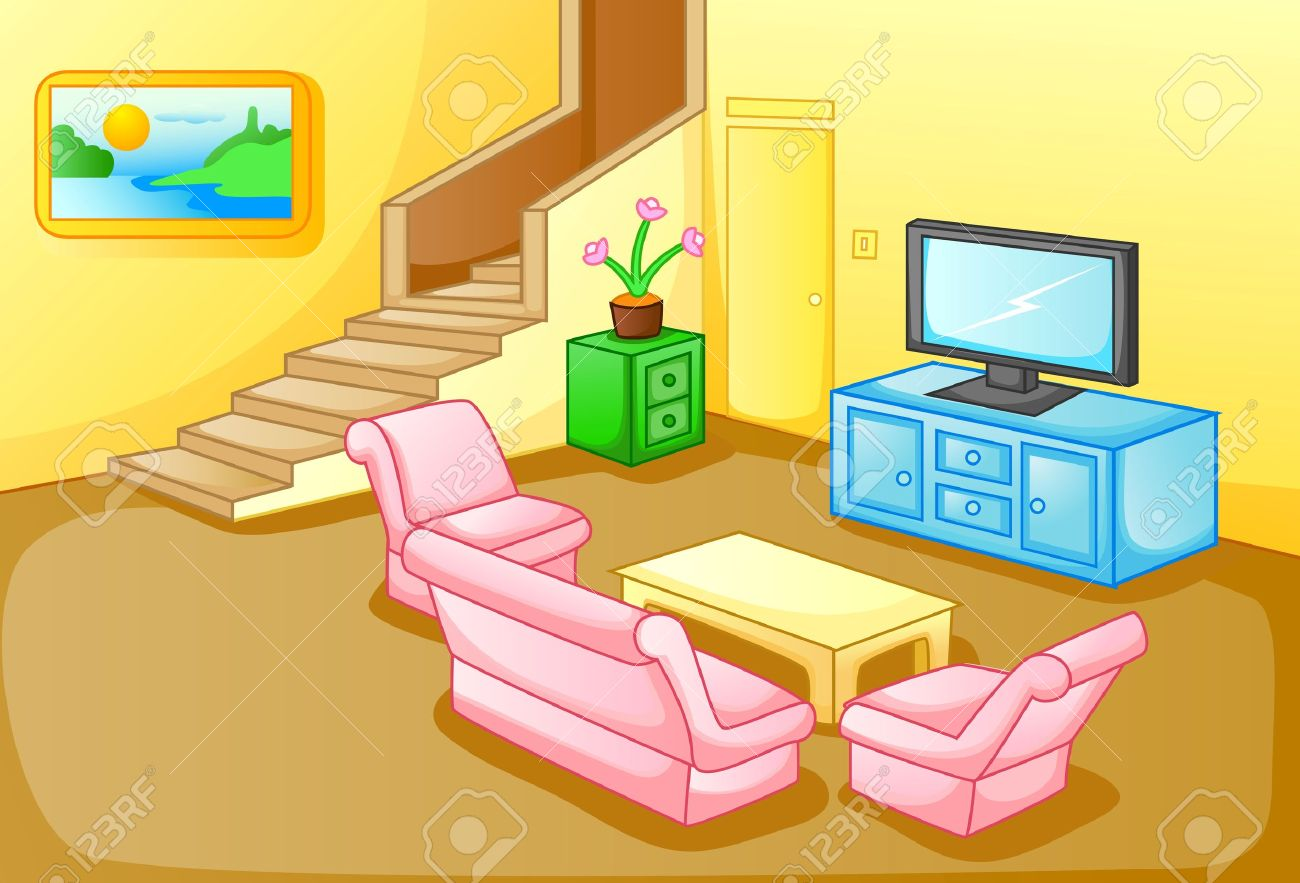 Best Kitchen Gallery: Interior Of A House Living Room Royalty Free Cliparts Vectors And of Living In A House Clip Art on rachelxblog.com