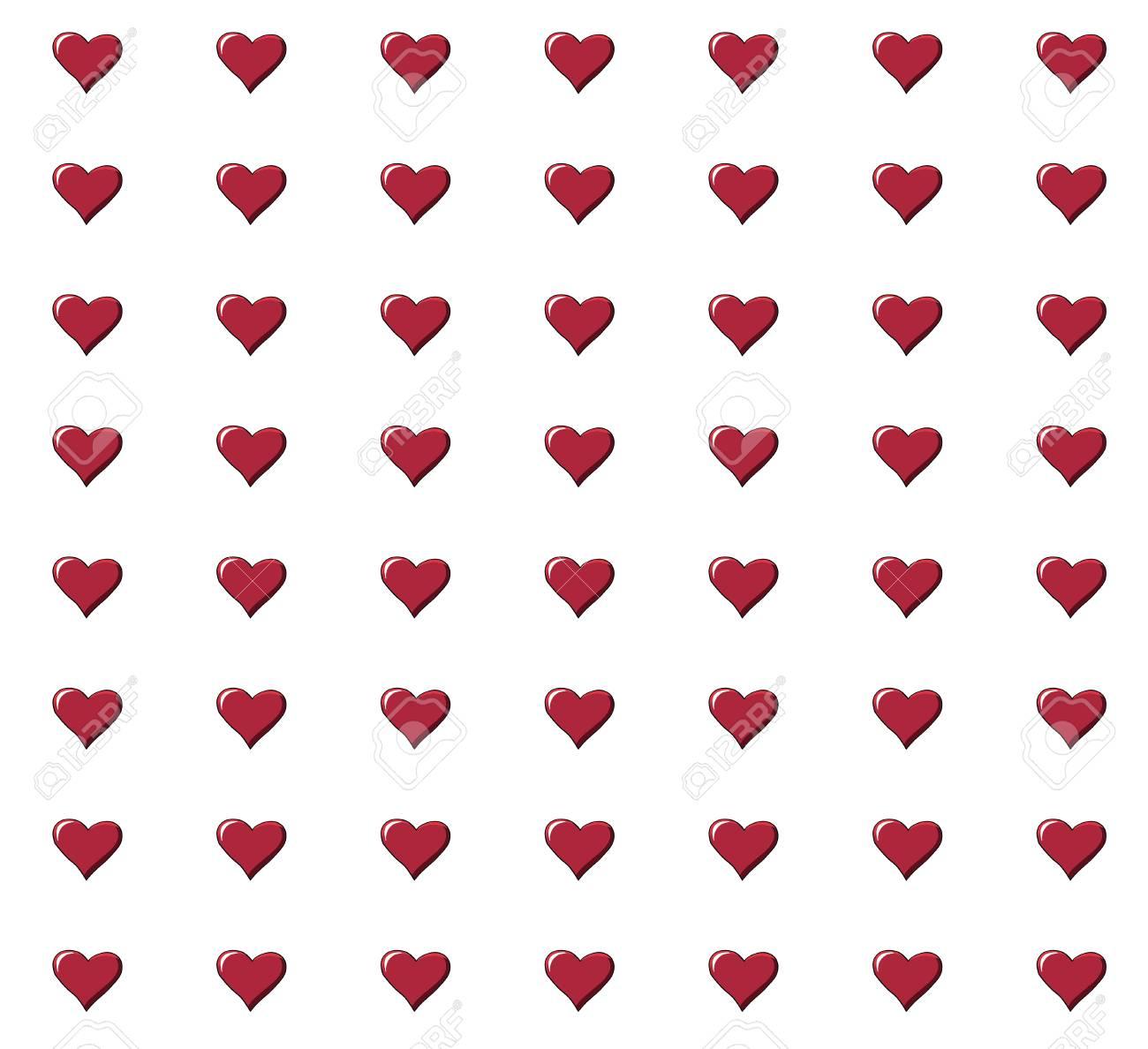 La carta da parati con rose e con cuori sono alcune fra le opzioni che vi faranno battere il cuore. Vettoriale Modello Senza Cuciture Con Bei Cuori Rossi Puo Essere Utilizzato Per Carta Da Parati Riempimenti A Motivo Biglietti Di Auguri Sfondi Di Pagine Web Carta Da Imballaggio O Tessuto Image 85309046