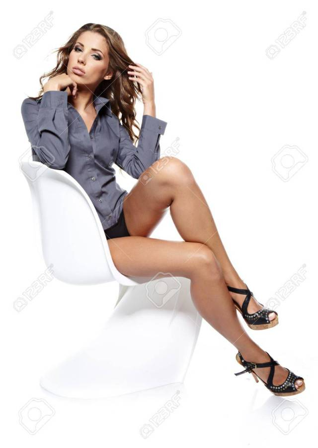 Sexy Businesswoman Stock Photo 14935118