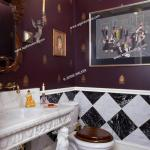 Bathrooms Powder Room Bas Relief Carved Marble Vanity Is Supported By Egyptian Caryarids Stock Photo Picture And Rights Managed Image Pic Shl Ljw1 2932 016 Agefotostock