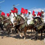 Men On Horseback Wearing Traditional White Robes Waving Red National Flag Essaouira Morocco Stock Photo Picture And Rights Managed Image Pic Uig 968 14 Idm6366 Agefotostock