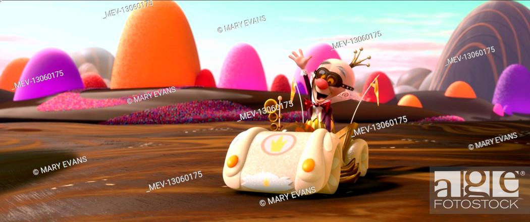 King Candy Film Wreck It Ralph Usa 2012 Director Rich Moore 01 November 2012 Stock Photo Picture And Rights Managed Image Pic Mev 13060175 Agefotostock